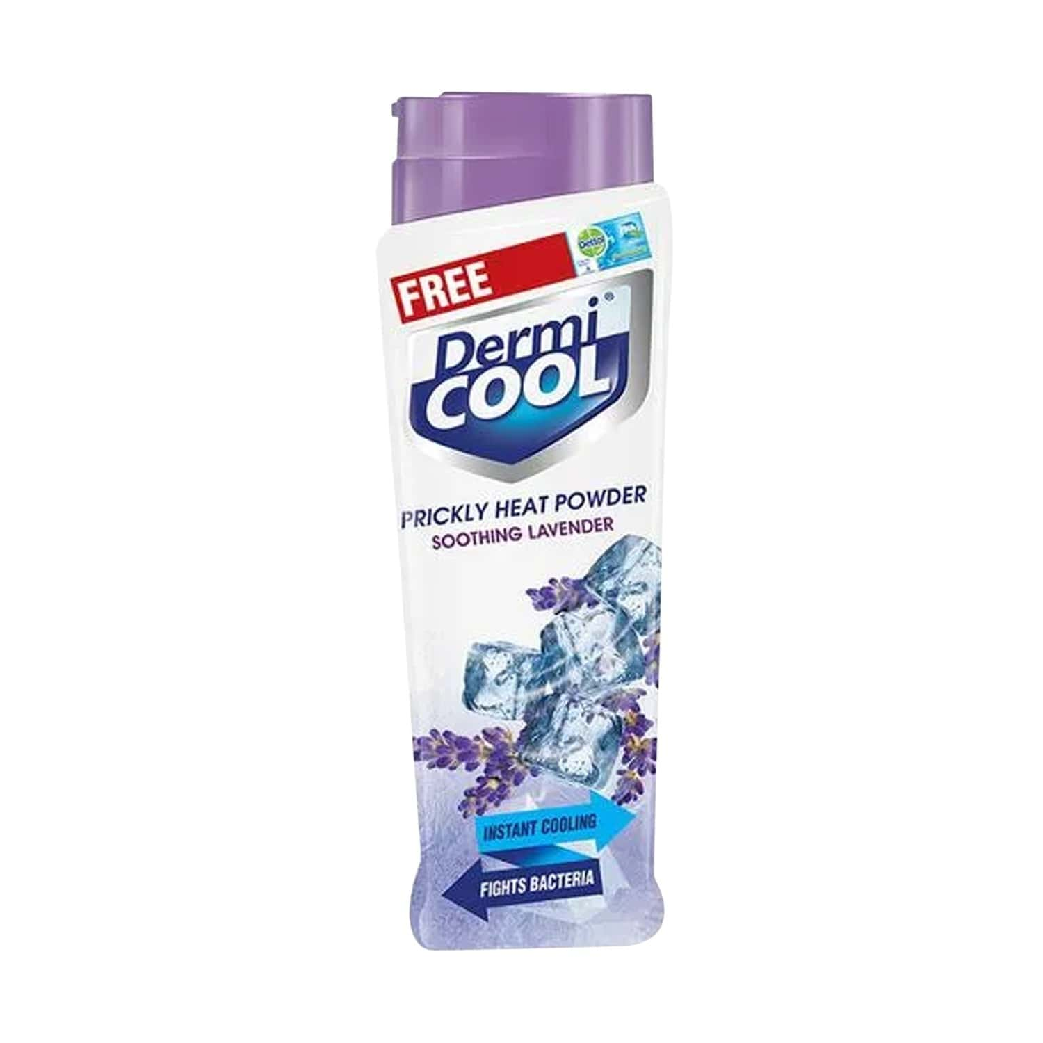 Dermicool Prickly Heat Lavender Powder 150 Gm With Dettol Cool Soap 75 Gm