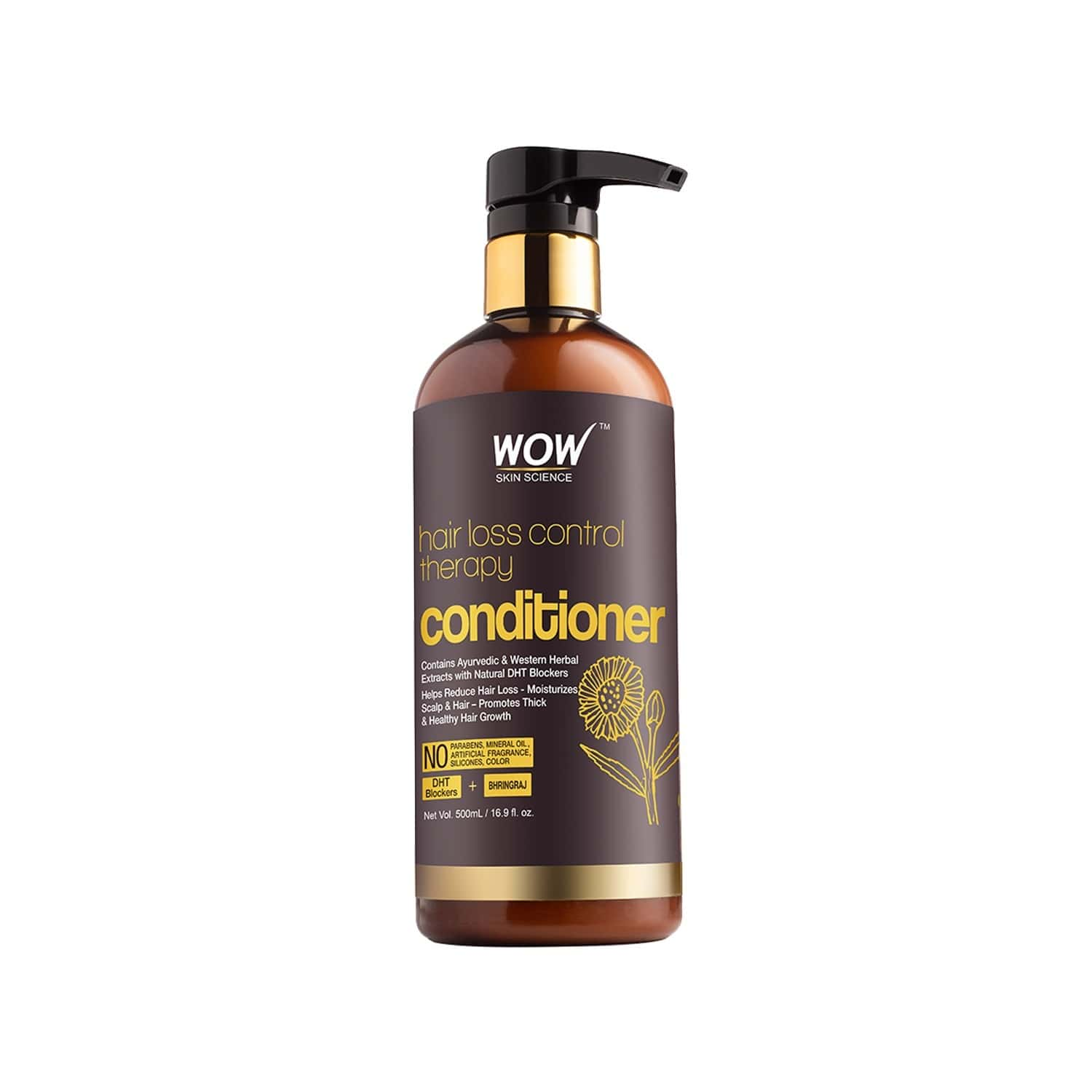 Wow Skin Science  Hair Loss Control Therapy Conditioner  Bottle Of 500 Ml