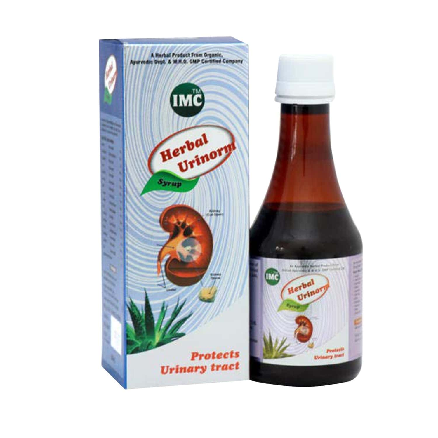 Imc Herbal Urinorm Pack Of 2 Syrup 2*200 Ml