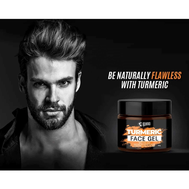 Beardo Turmeric Gel For Men - 50 Gm