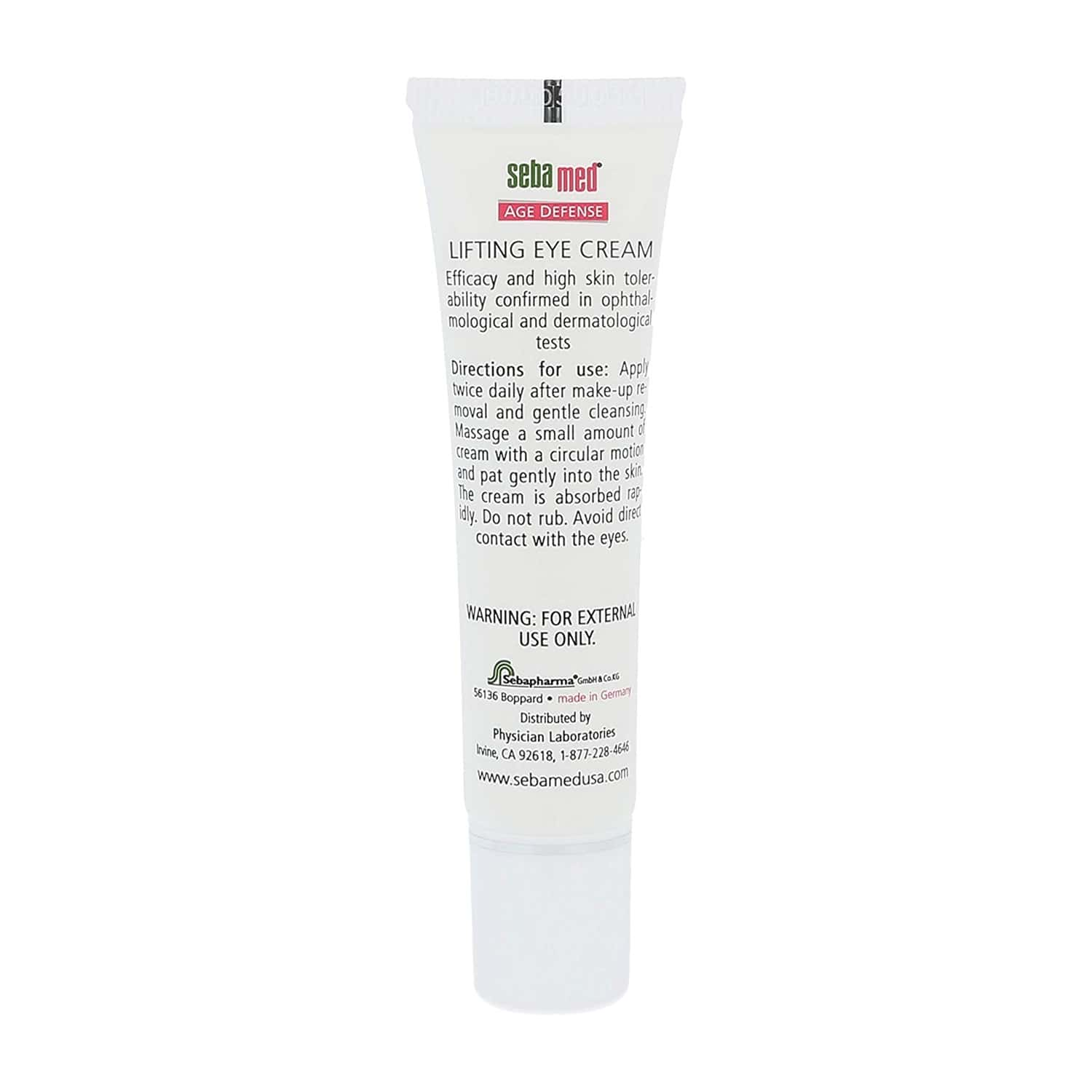 Sebamed Anti Ageing Q10 Lifting Eye Cream Tube Of 15 Ml