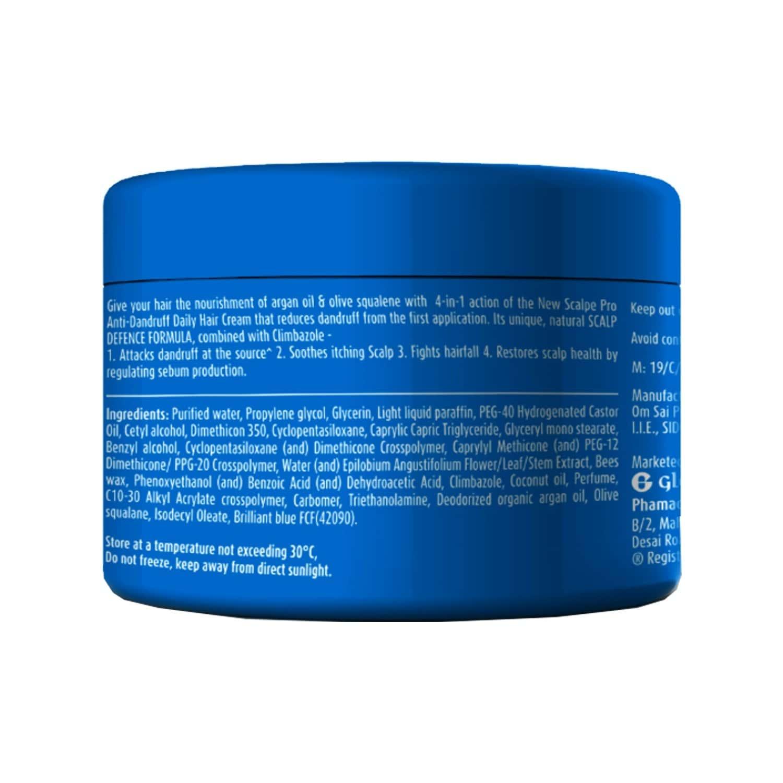 Scalpe Pro Anti Dandruff Hair Cream - 100gm