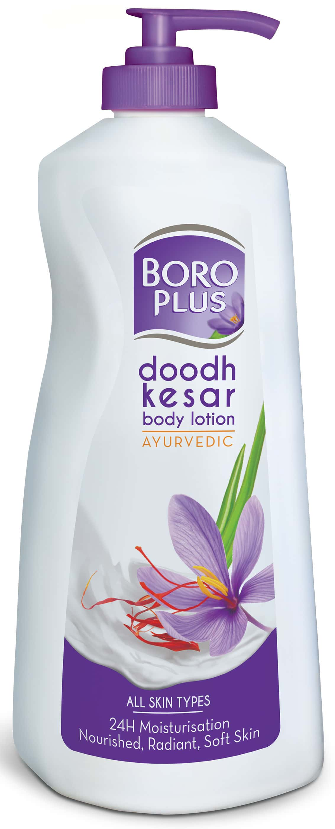 Boro Plus Doodh Kesar Body Lotion Bottle Of 400 Ml