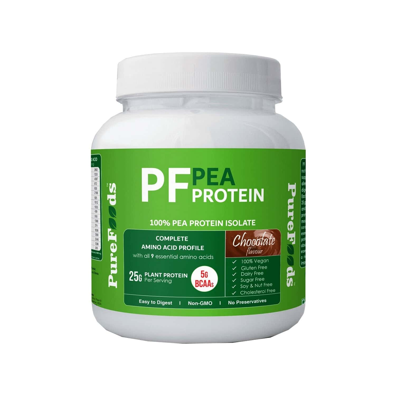 Purefoods Pf Pea Protein Chocolate Flavour - 800g