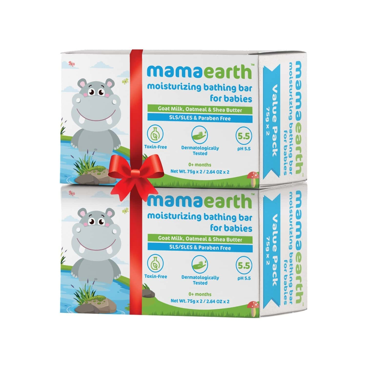 Mamaearth  Baby Soap (pack Of 4) Box Of 300 G