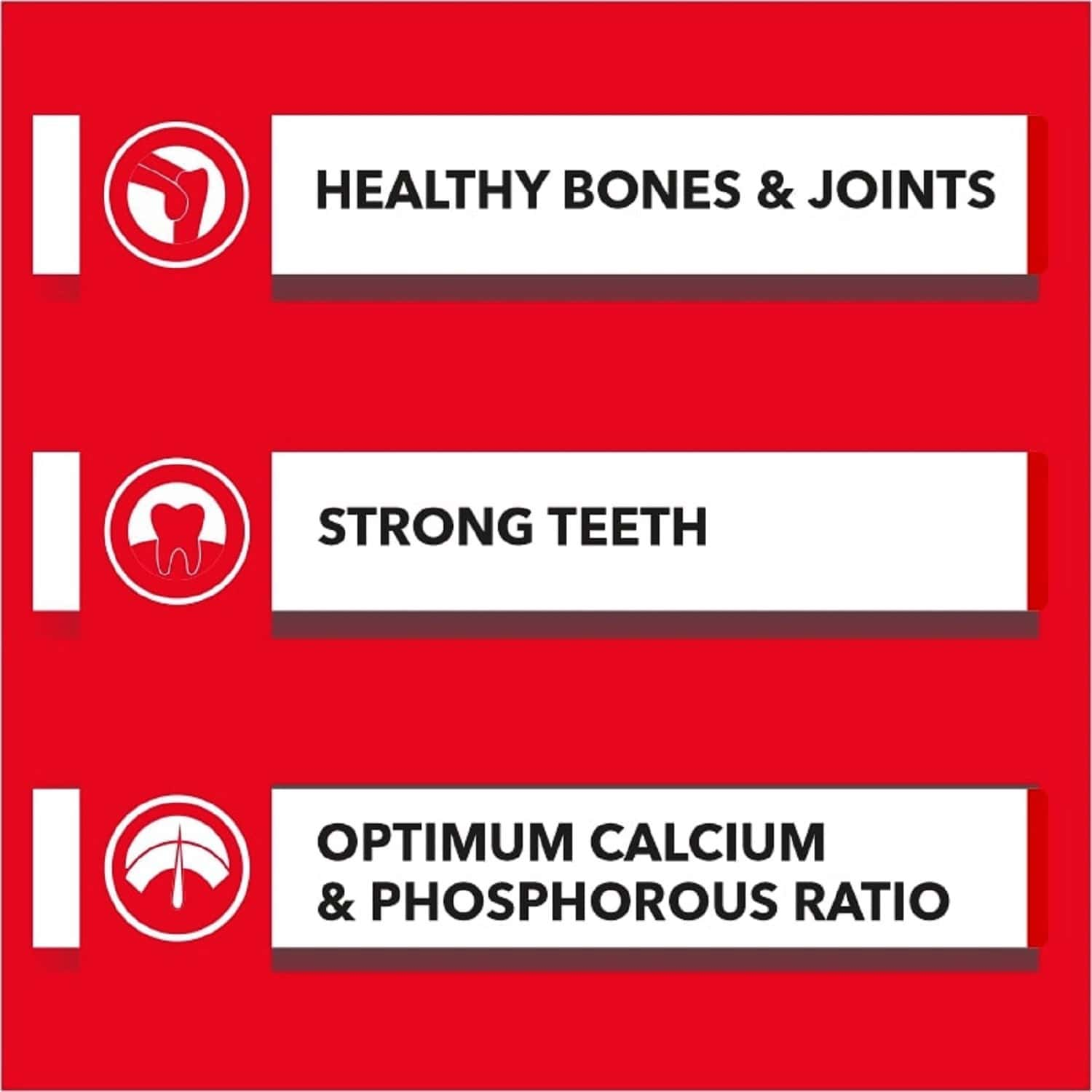 Drools Absolute Calcium Bone Pouch 190g