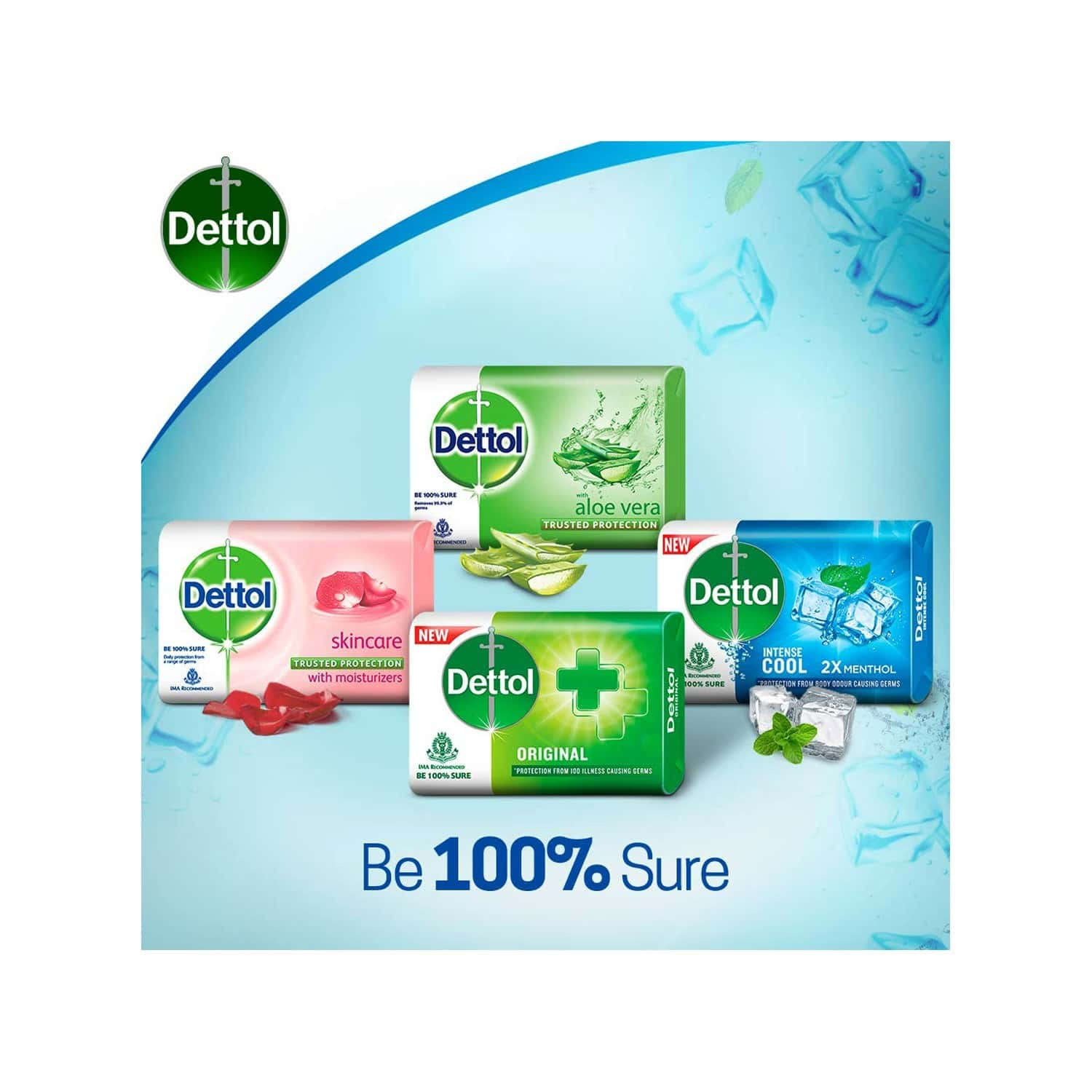 Dettol Cool Soap Wrap Of 300 G (buy 3 Get 1 Free)