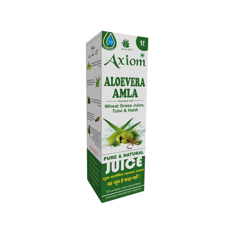 Axiom Jeevan Ras Aloevera Amla Juice - 1000ml