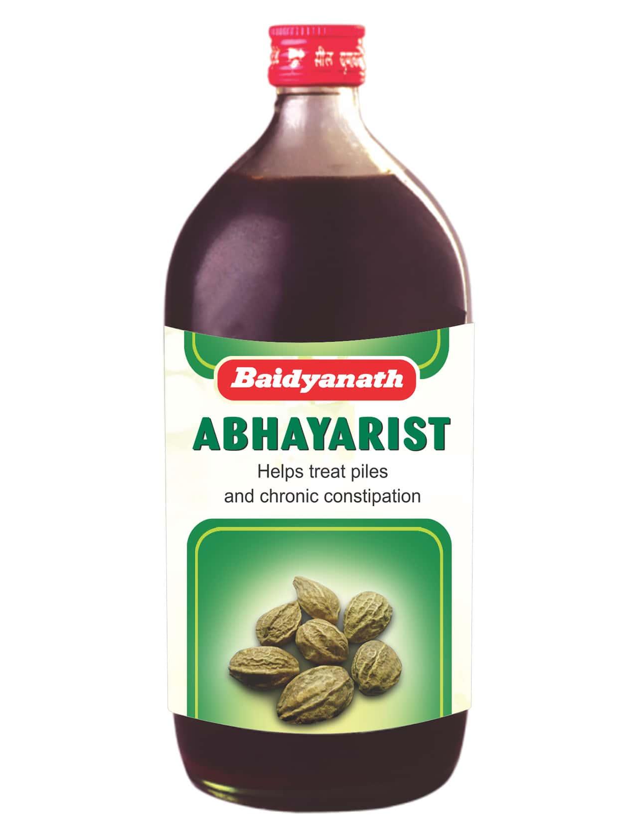 Baidyanath Abhayarishta    Bottle Of 450 Ml