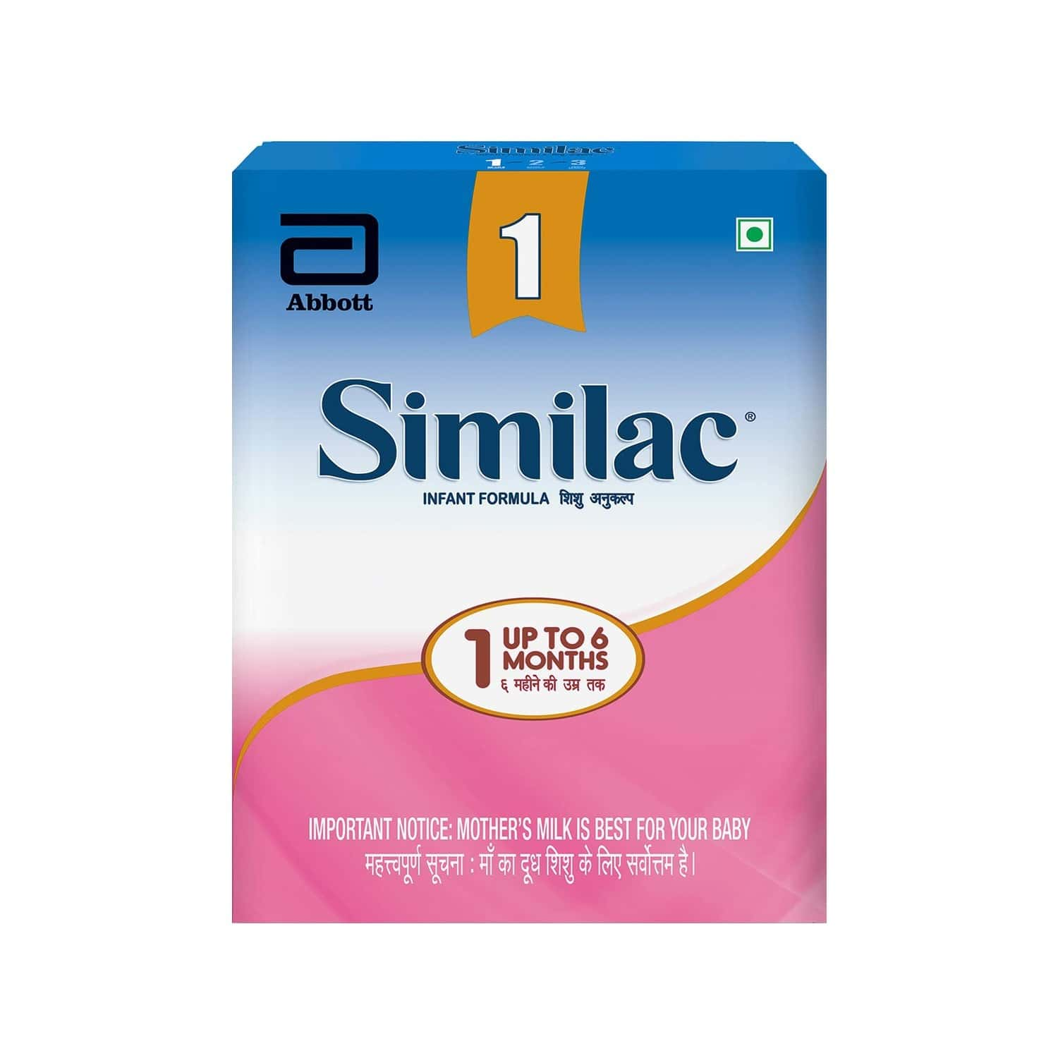 Similac Baby Food Stage 1 Infant Formula (upto 6 Months) Refill Of 400 G