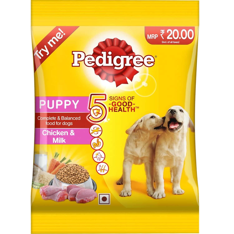 Pedigree Chicken & Milk Puppy 90g