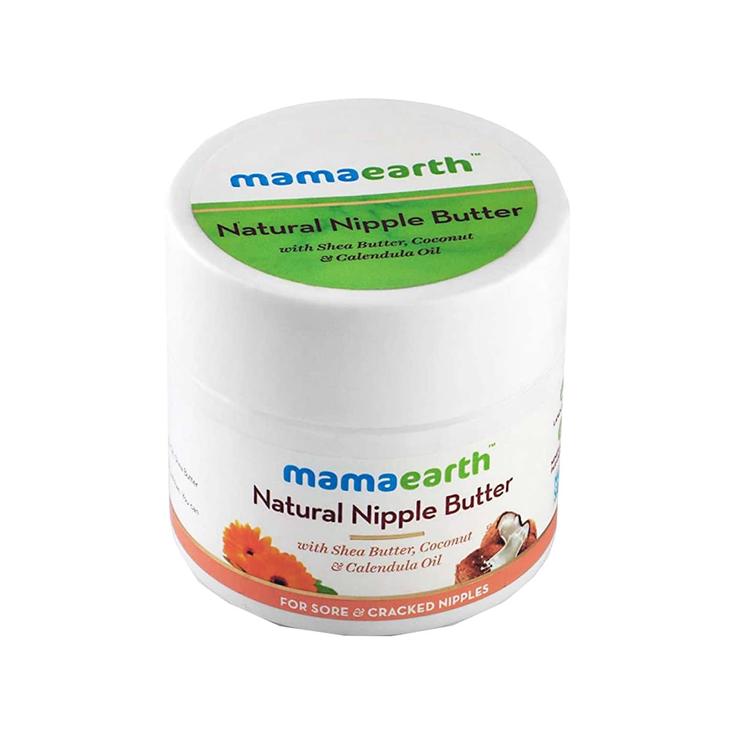 Mamaearth  Nipple Butter For Sore And Cracked Nipples Tube Of 50 Ml