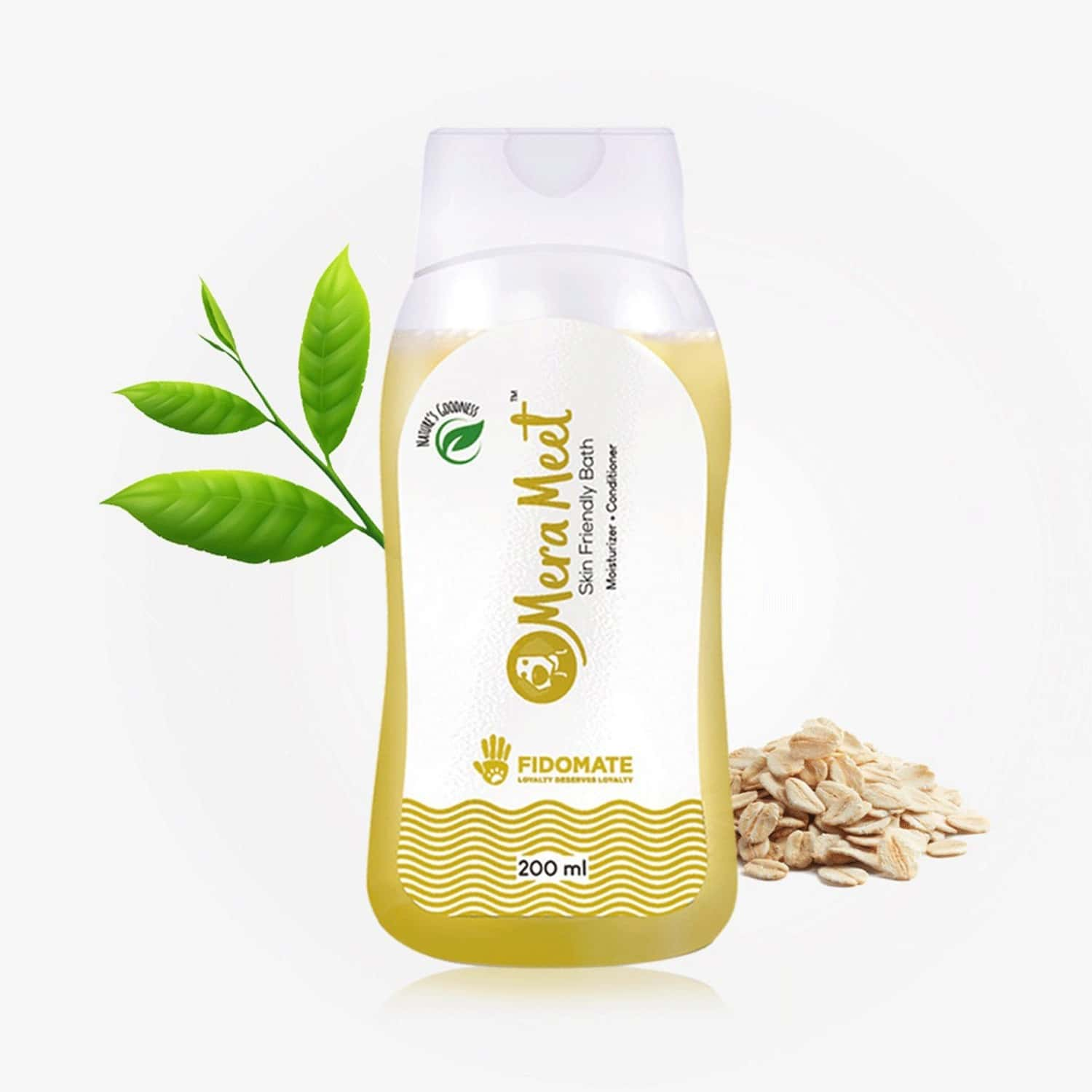 Fidomate Merameet Tea Tree Shampoo For Dogs,maintains Overall Skin Health- Paraben & Sulphate Free