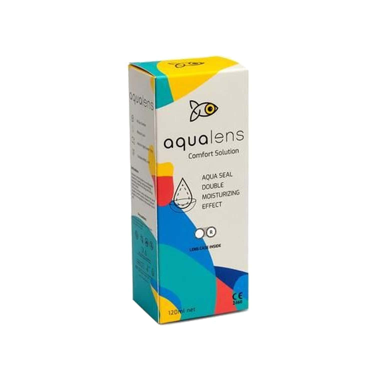 Aqualens Comfort Contact Lens Solution (lens Care Free) Bottle Of 120 Ml
