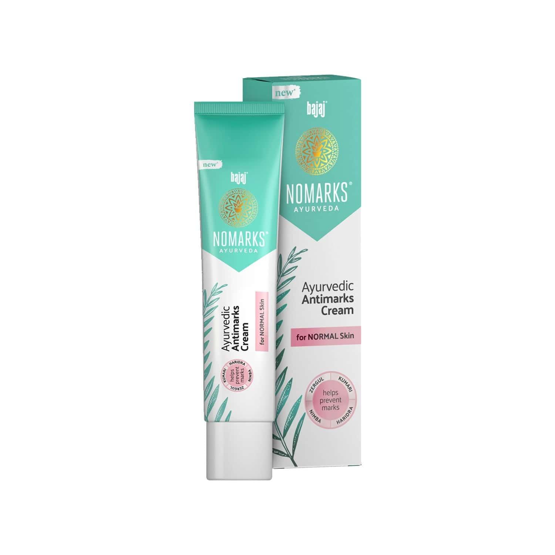 Bajaj Nomarks Ayurvedic Antimarks For Normal Skin Cream 25 Gm