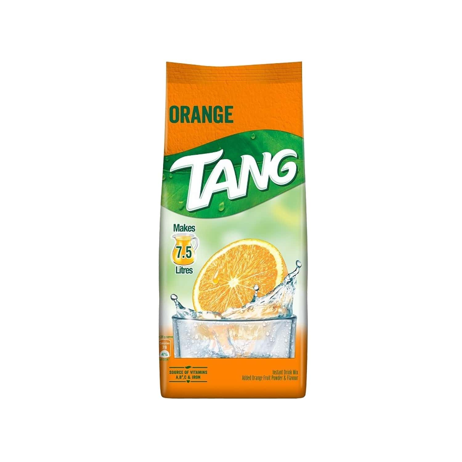 Tang Orange Instant Drink Mix Packet Of 750 G