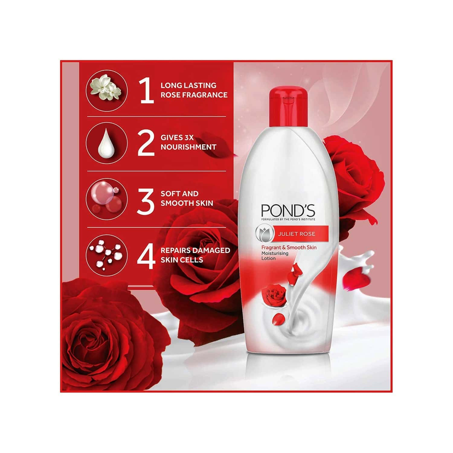 Pond's Juliet Rose Body Lotion-100 Ml