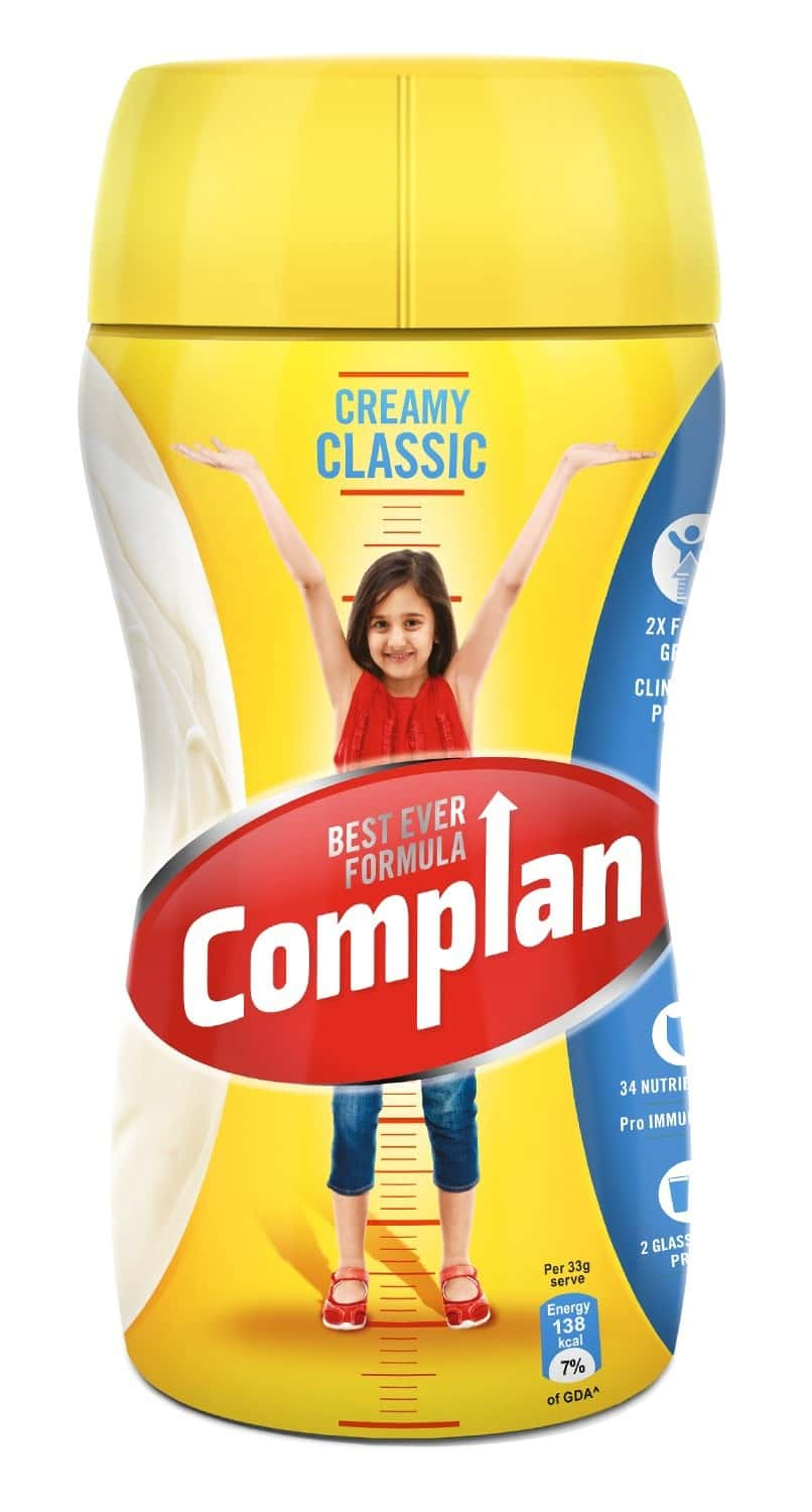 Complan Creamy Classic Nutrition Drink Jar Of 500 G