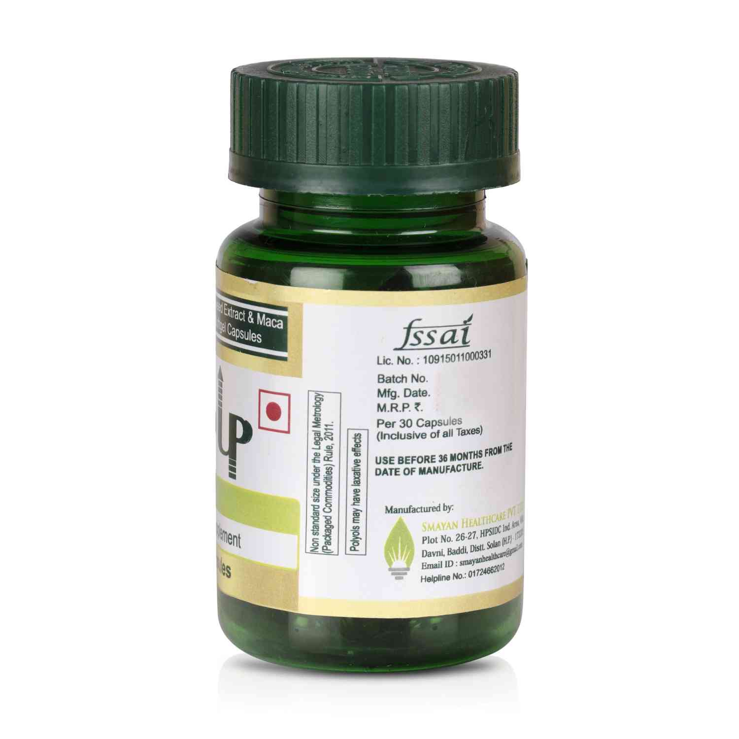Buy Alvizia Alenup Testosterone Booster Horny Goat Weed 500 Mg & Maca Root 75 Mg - 30 Softgel