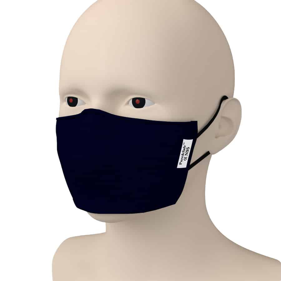 N95 Reusable Mask(pack Of 5) - Pure & Safe By Khadi