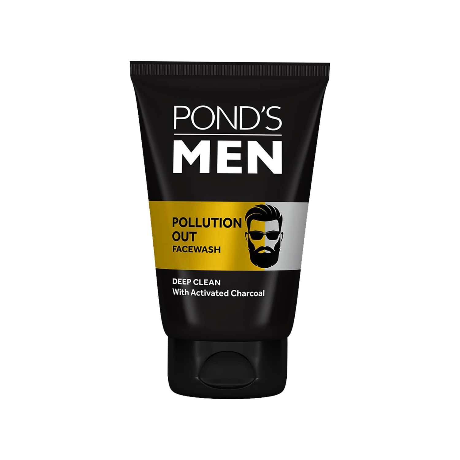 Pond's Men Pollution Out Activated Charcoal Deep Clean Facewash - 100 G