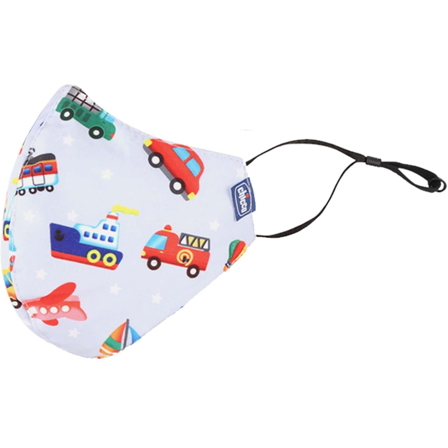 Chicco Kids Face Mask 3-6y Jung-car-sport - 3pc
