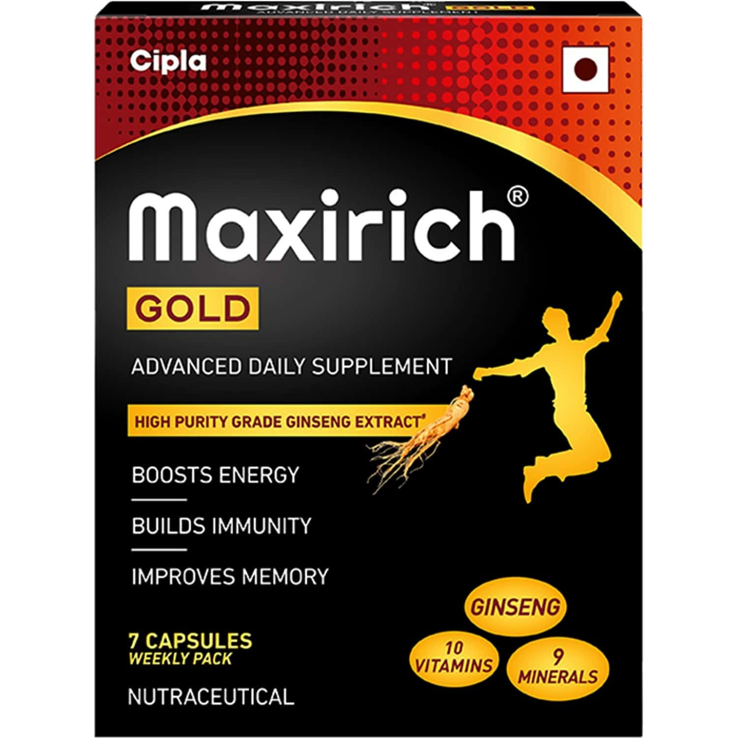 Maxirich Gold Advanced Daily Supplement (7 Capsules)