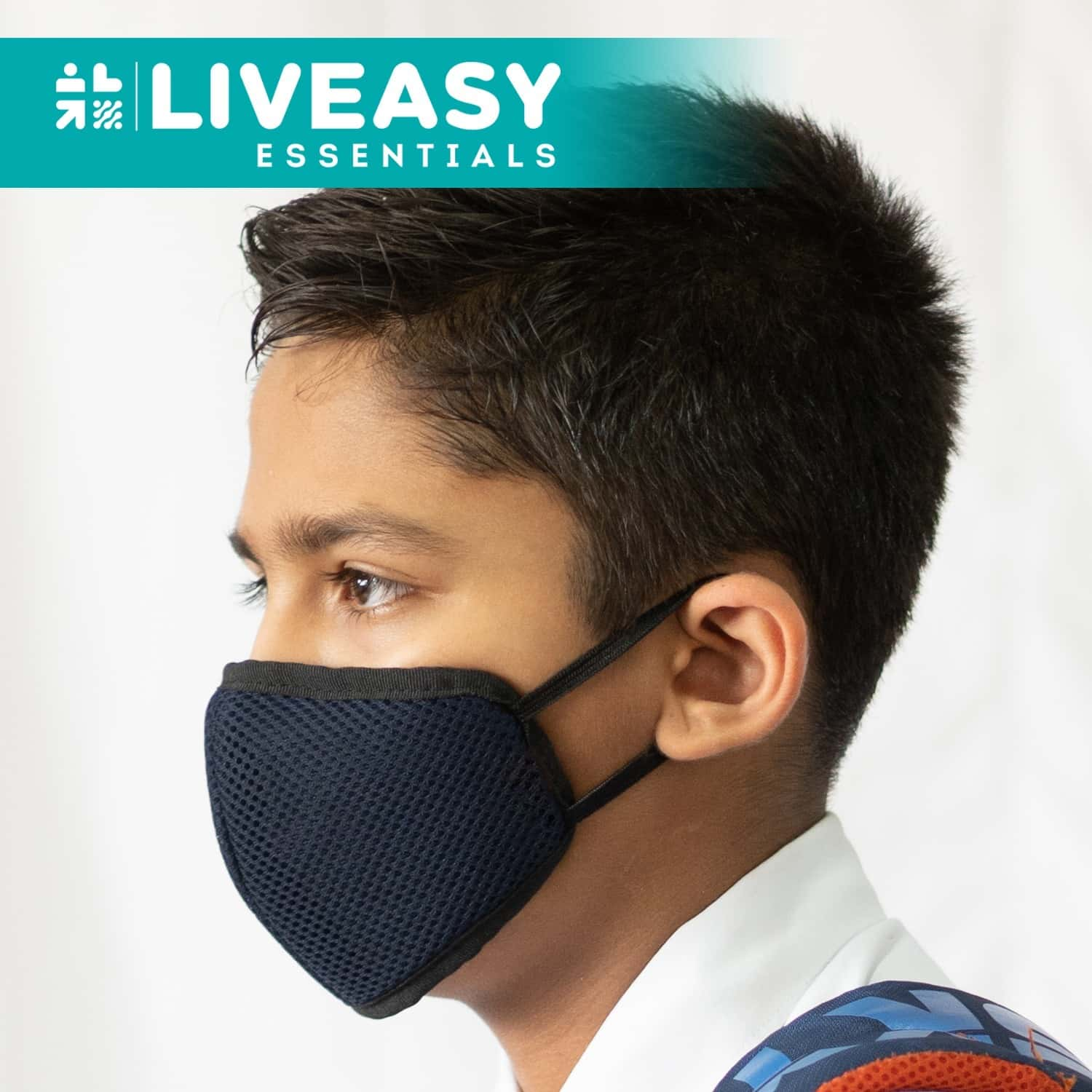 Liveasy Guardian A95 Reusablemask For Kids, Pack Of 2
