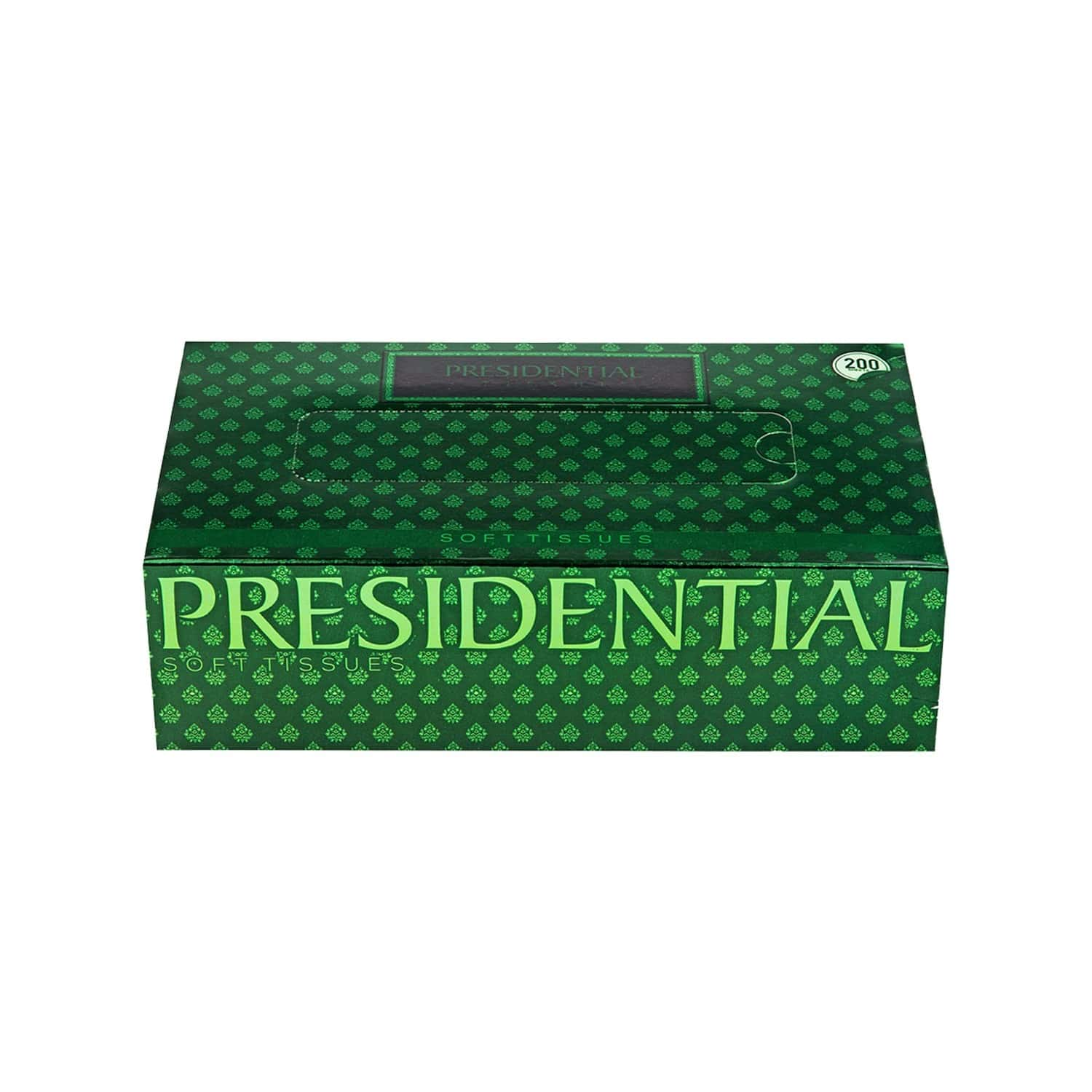 Presidential Eco Tissue Paper Box ( Pack Of 2 ) - 200 Tissues