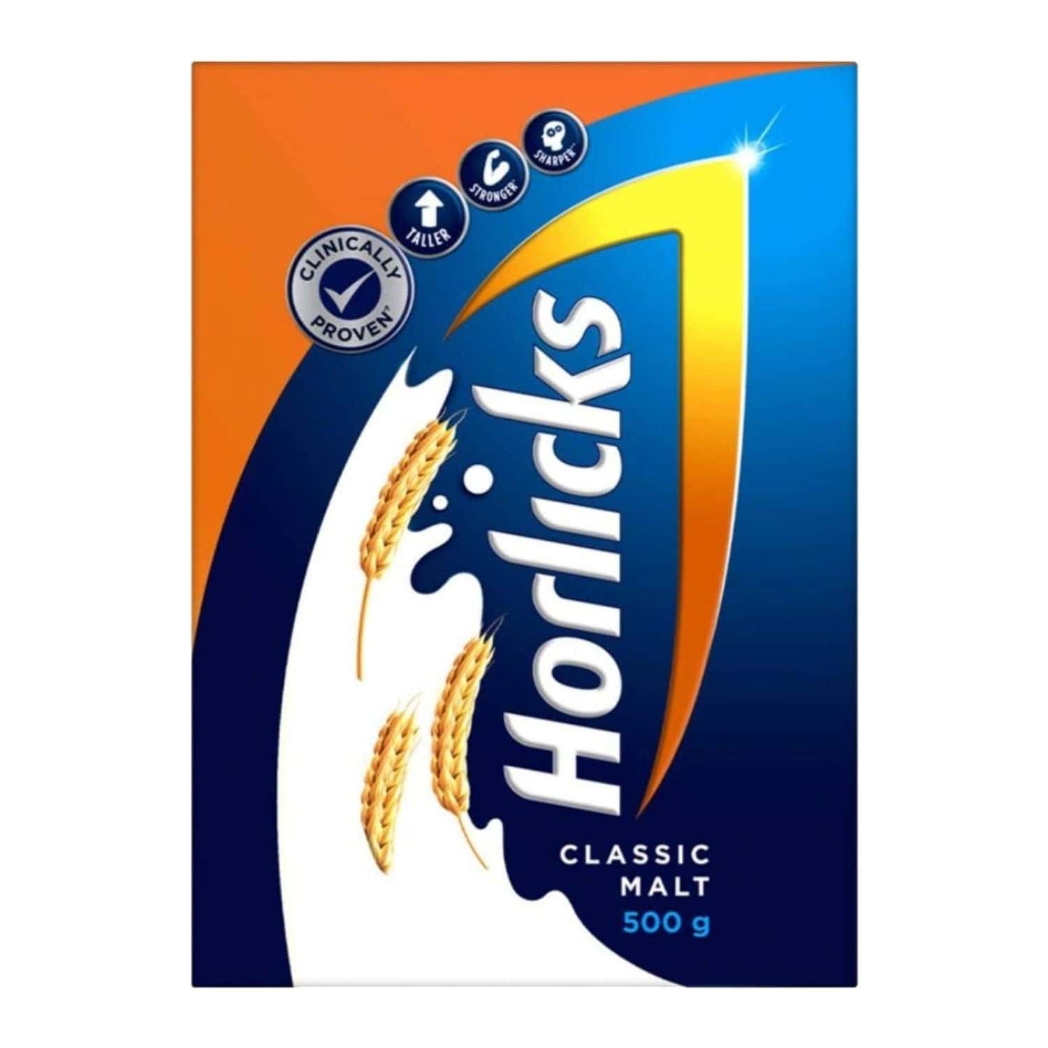 Horlicks Classic Malt Nutrition Drink Refill (box) Of 500 Gm