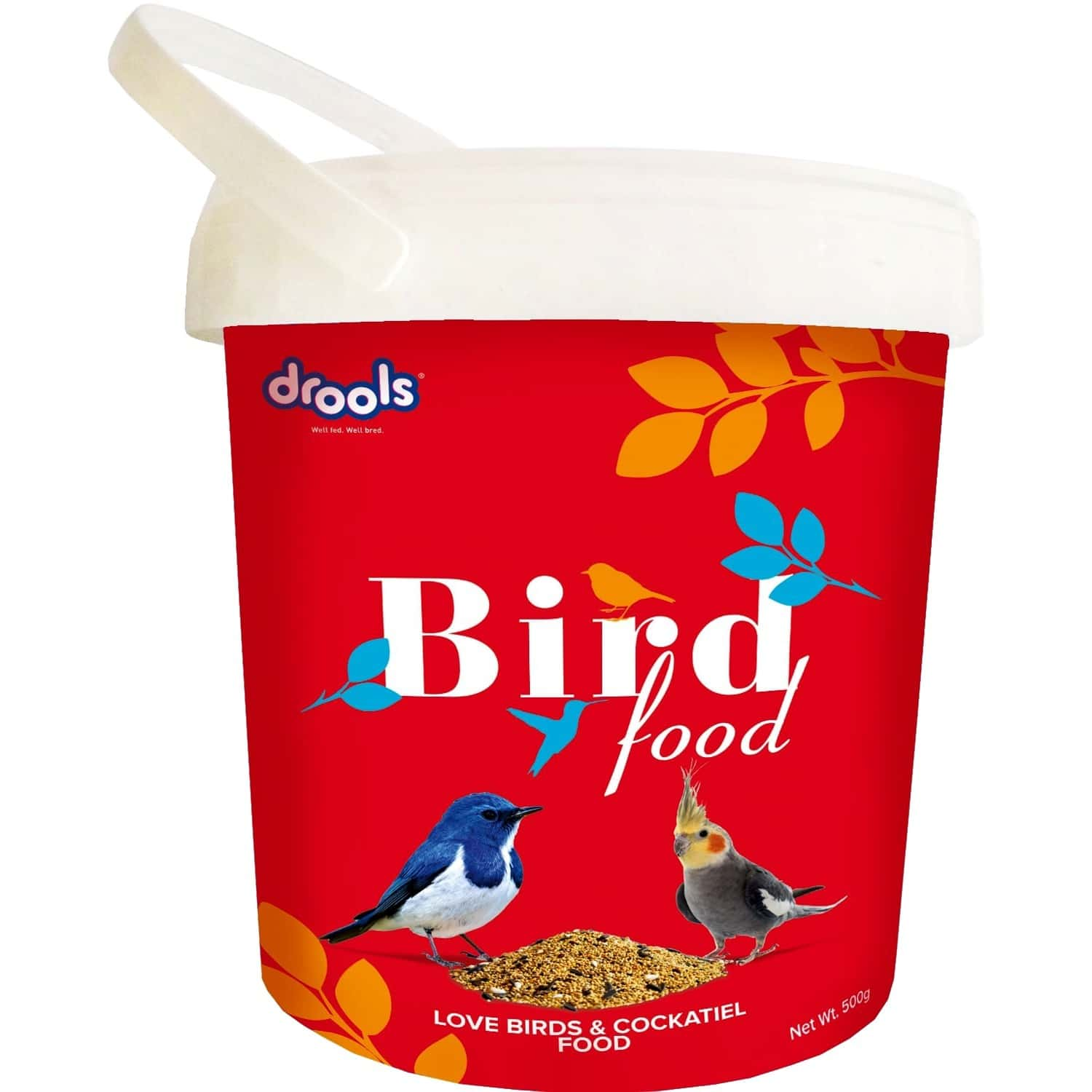 Bird Food For Love Birds And Cockatiel With Mixed Seeds 500g
