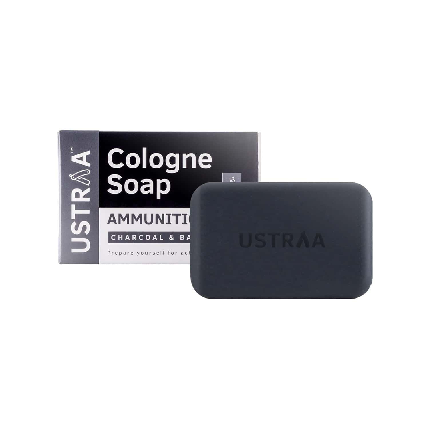 Ustraa Cologne Soap - Ammunition - 125 Gm ( Pack Of 3)