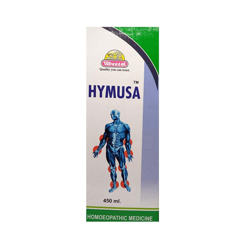 Wheezal Hymusa Syrup 450 Ml