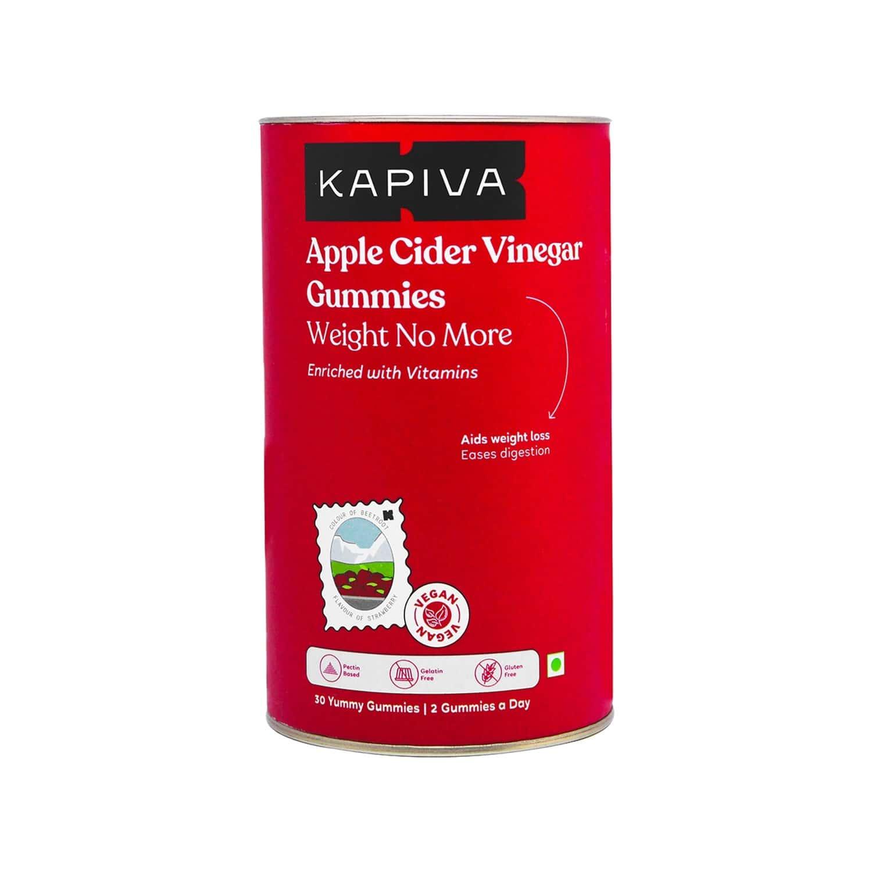 Kapiva Apple Cider Vinegar Gummies 30 Gummies