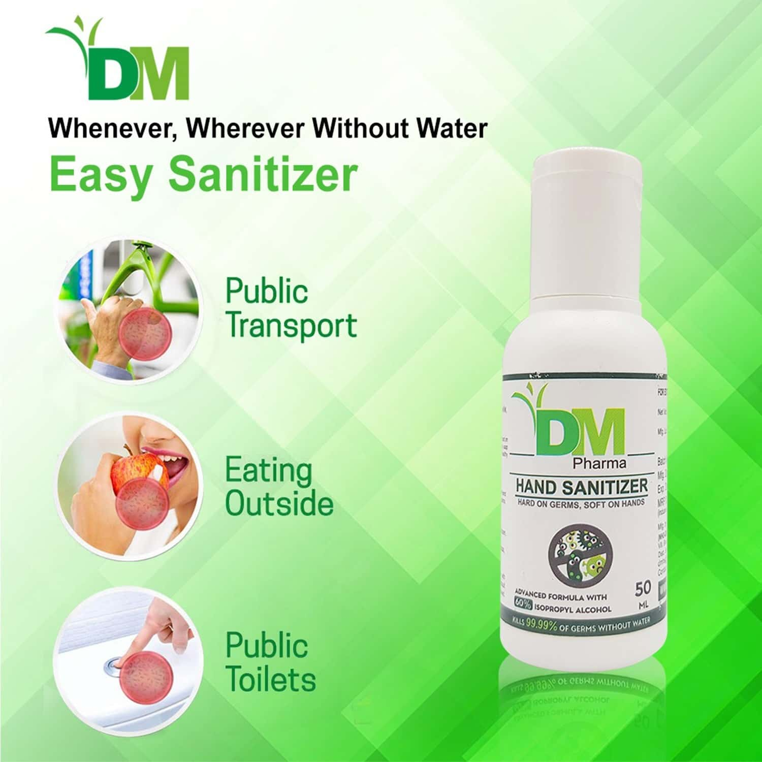 Dm Hand Sanitizer 50 Ml