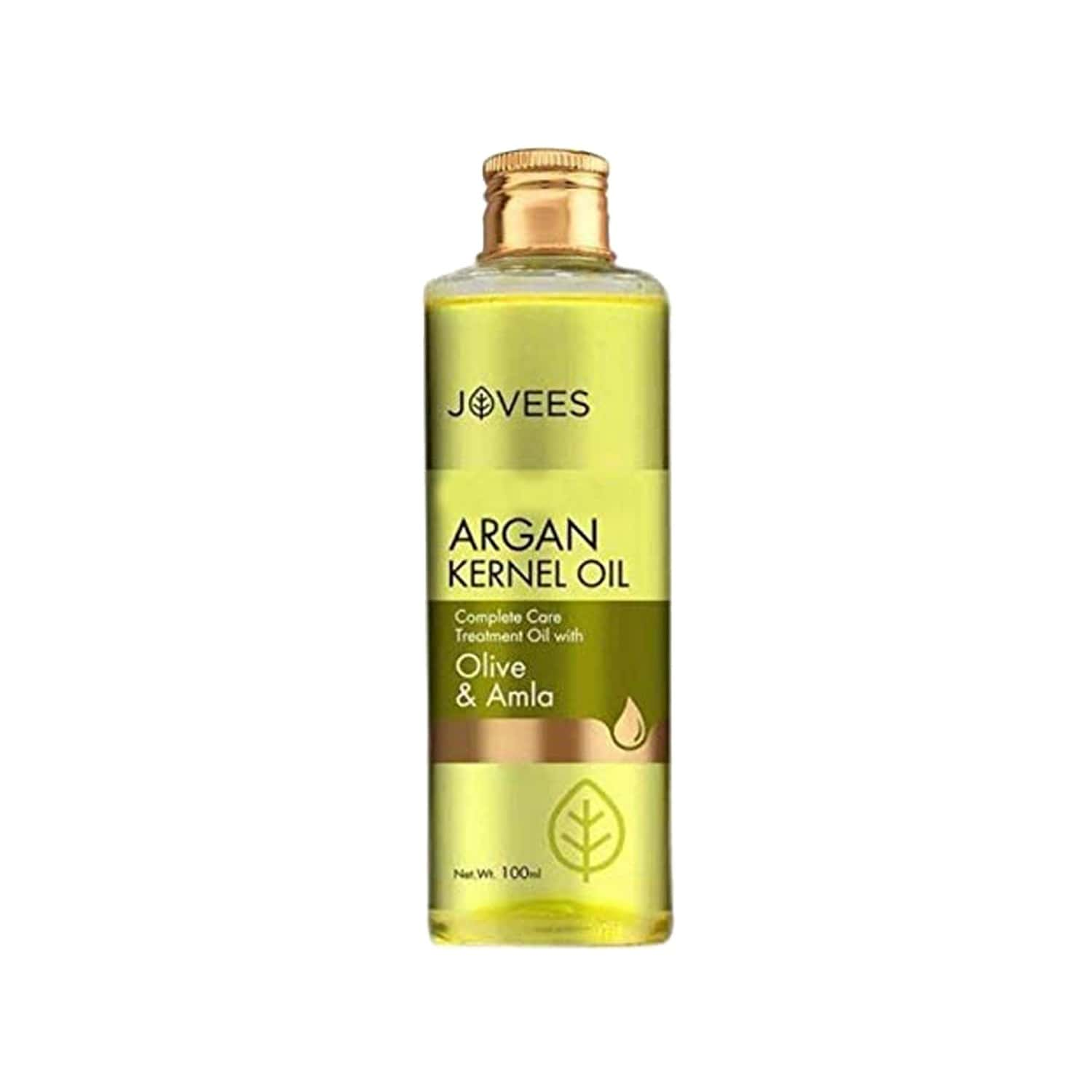 Jovees Argan Kernel Hair Regrowth Complete Care Treatment Oil With Olive & Amla - 100 Ml