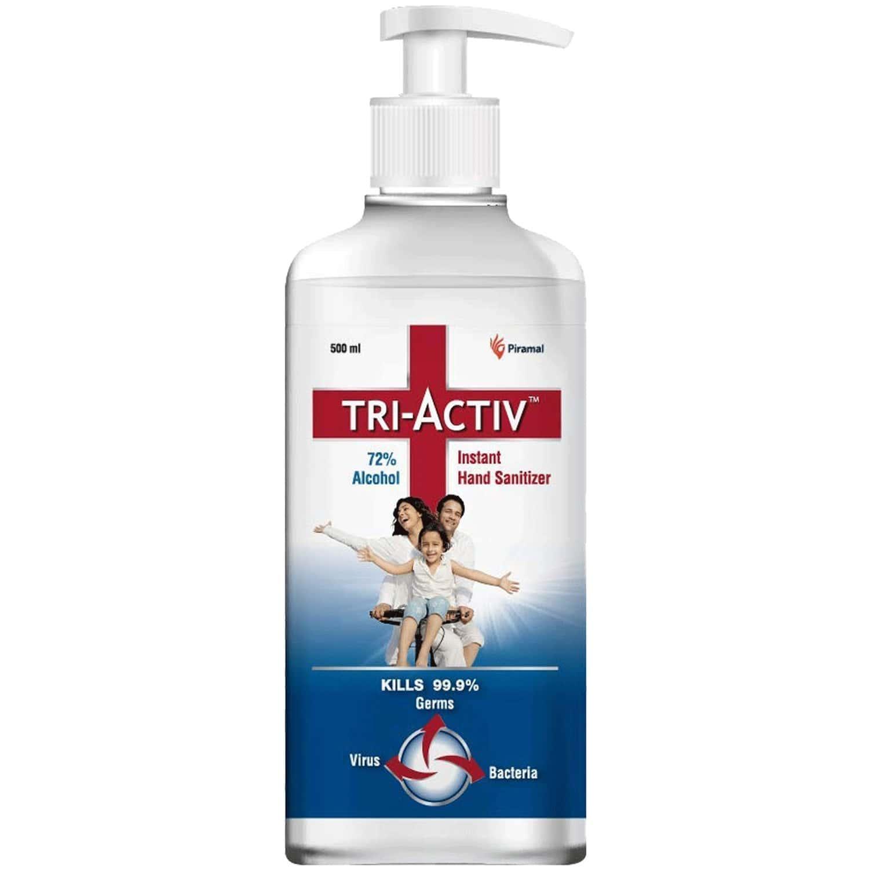 Tri-activ Instant Hand Sanitizer (500ml) With Pump