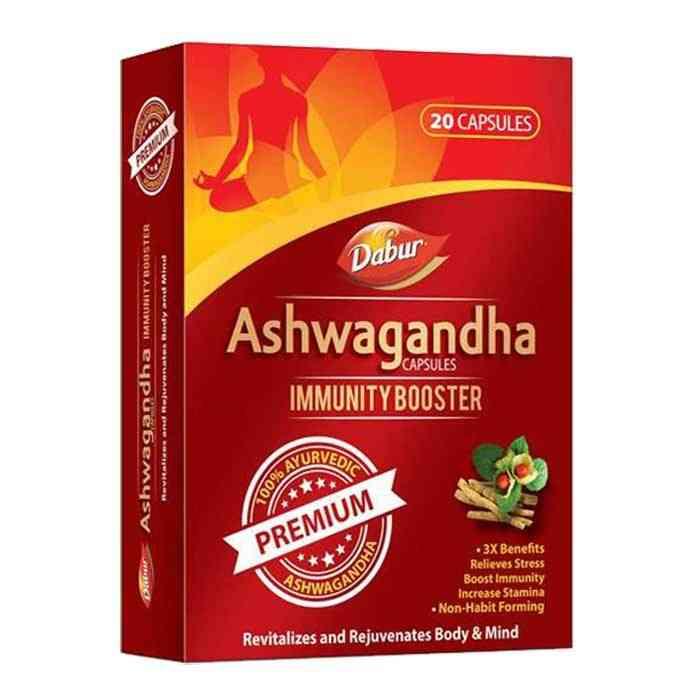 Dabur Ashwagandha Capsules- Immunity Booster- 10 Capsules