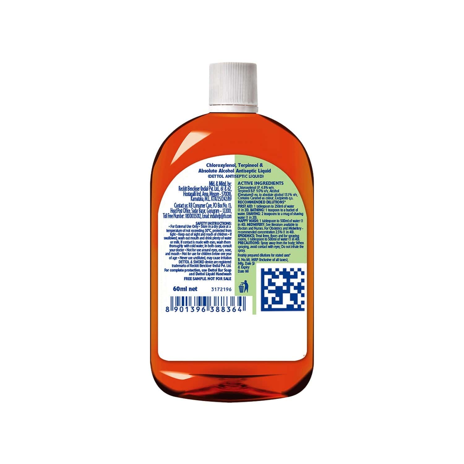 Moov Strong Diclofenac Pain Relief Gel 30g With Free Dettol Antiseptic Liquid - 60ml