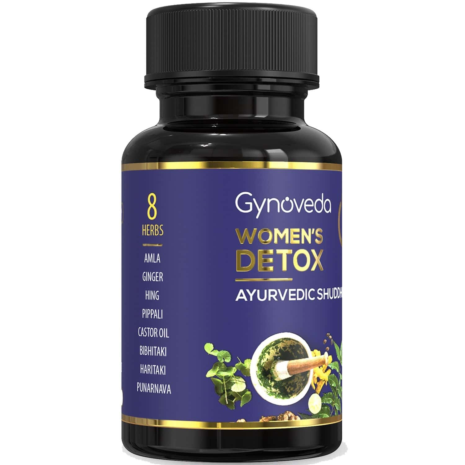 Gynoveda's Women's Daily Detox - 180 Pill For 3 Months