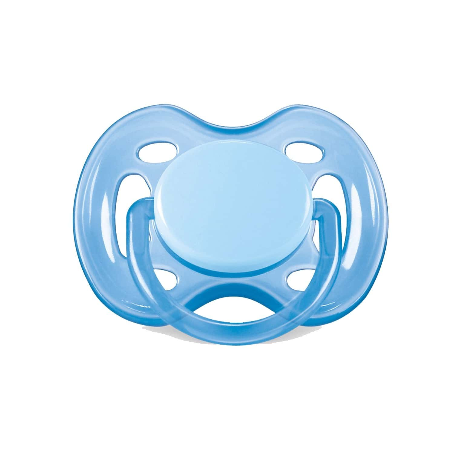 Philips Avent Soother Bpa Free 18m+twinpack (white Blue)