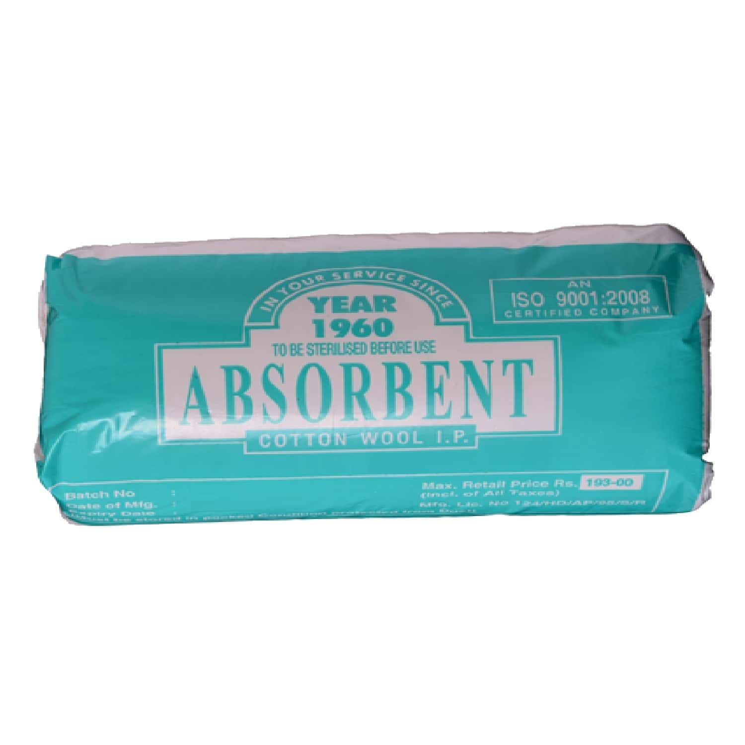 Absorbent Cotton Wool By Jaycot 400 Gm