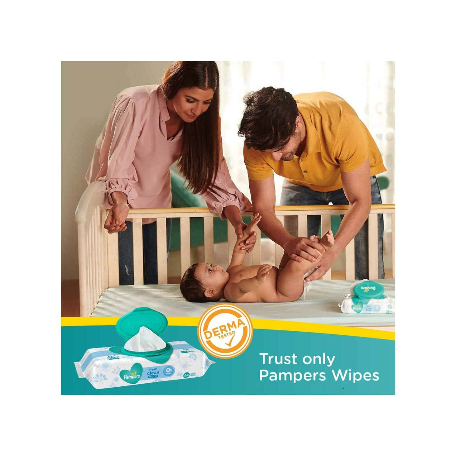 Pampers All Round Protection - Small - 16 Pants