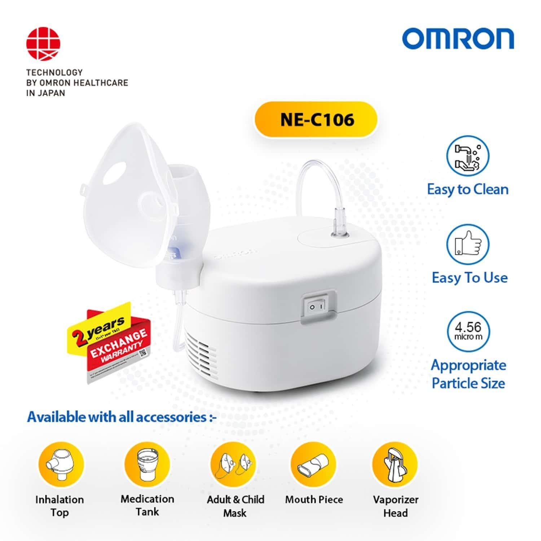 Omron Ne-c106 Compressor Nebulizer