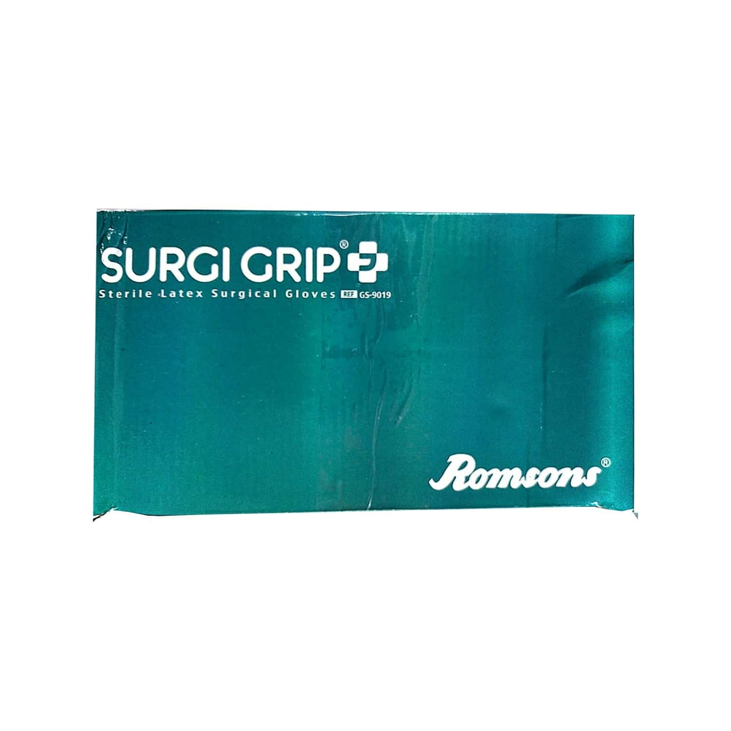 Surgi Grip Sterile Latex Gloves Size 6 Box Of 100
