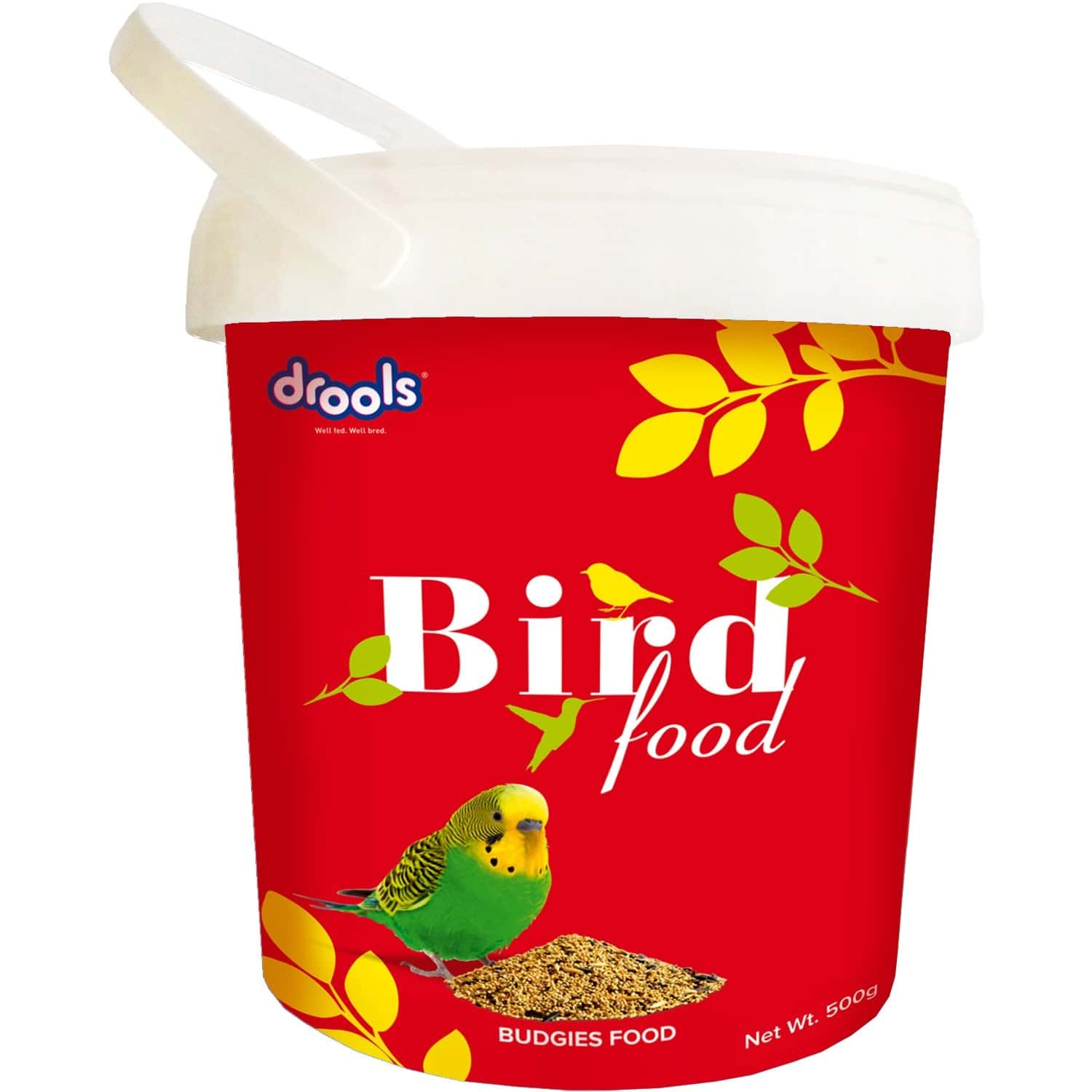Drools Bird Food For Budgies With Mixed Seeds 500g
