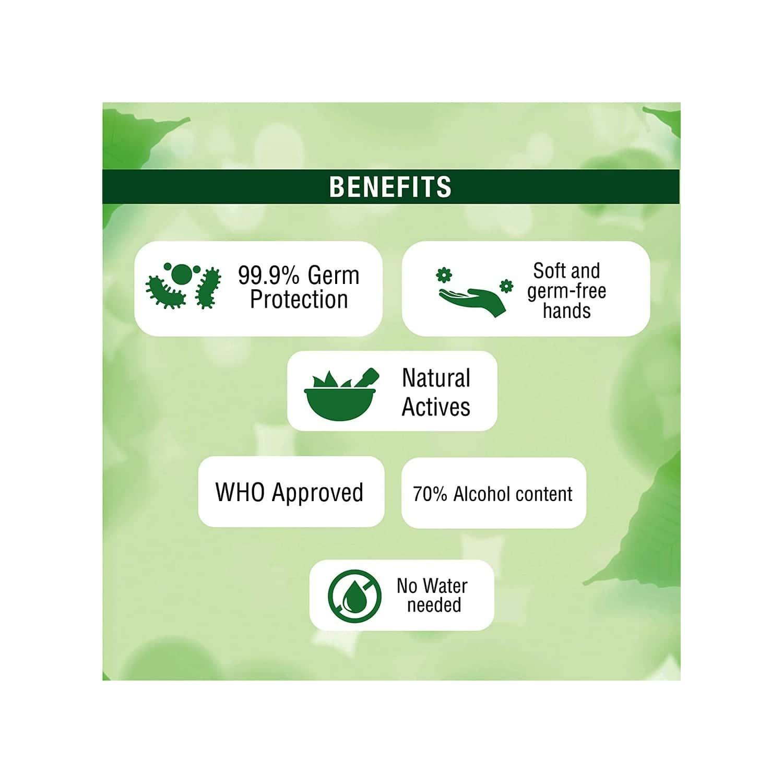 Medimix Ayurveda Hand Sanitizer Enriched With Neem Aloevera Tulsi - 100 Ml