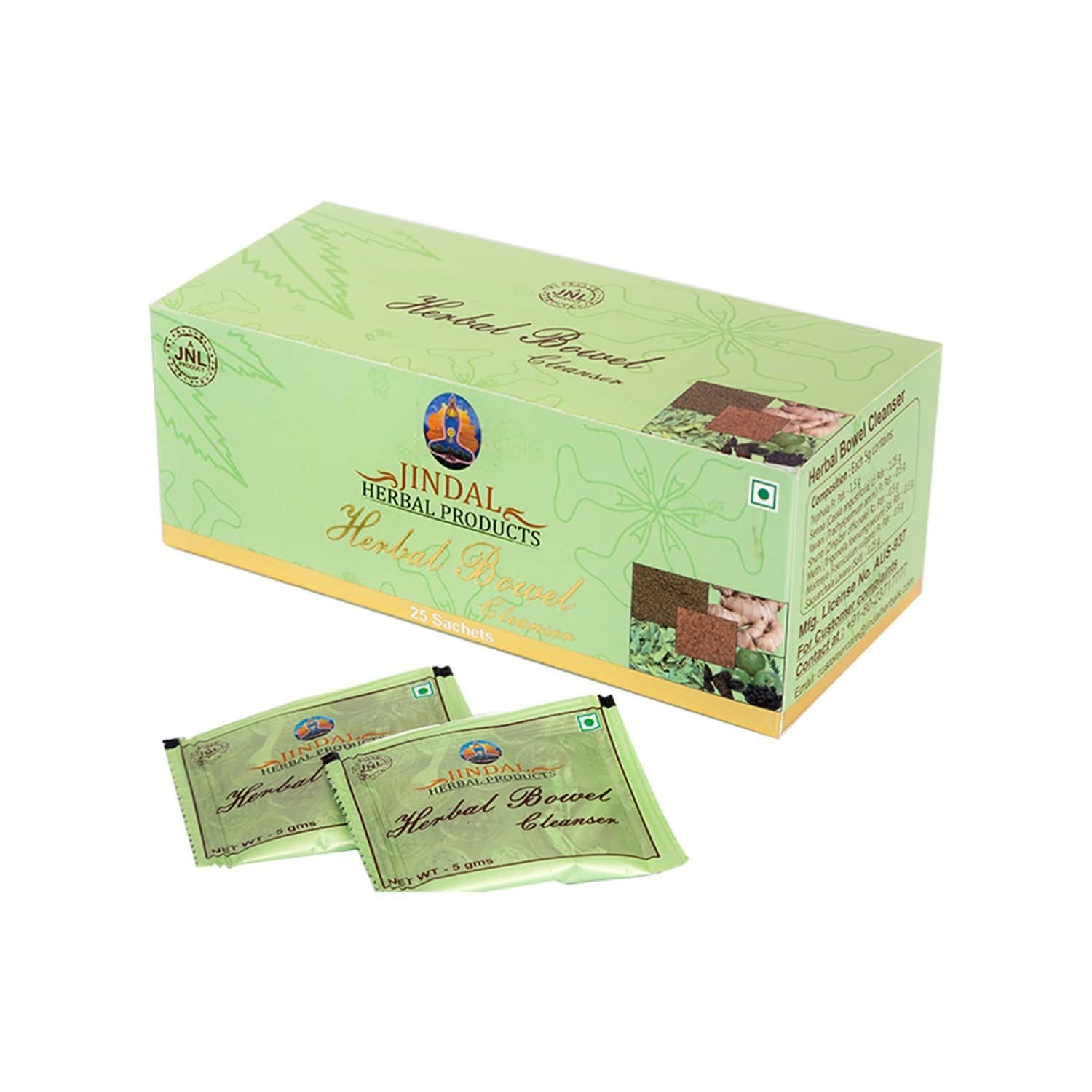 Jindal Herbals Constipation Powder (pack Of 25) Box Of 5 G