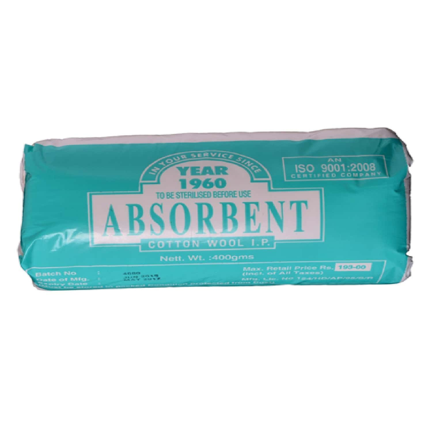 Absorbent Cotton Wool 200 Gm