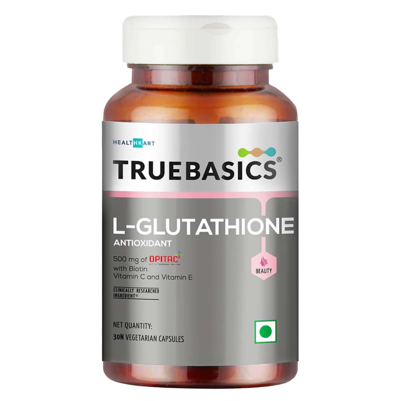 Truebasics Glutathione - 30 Capsules